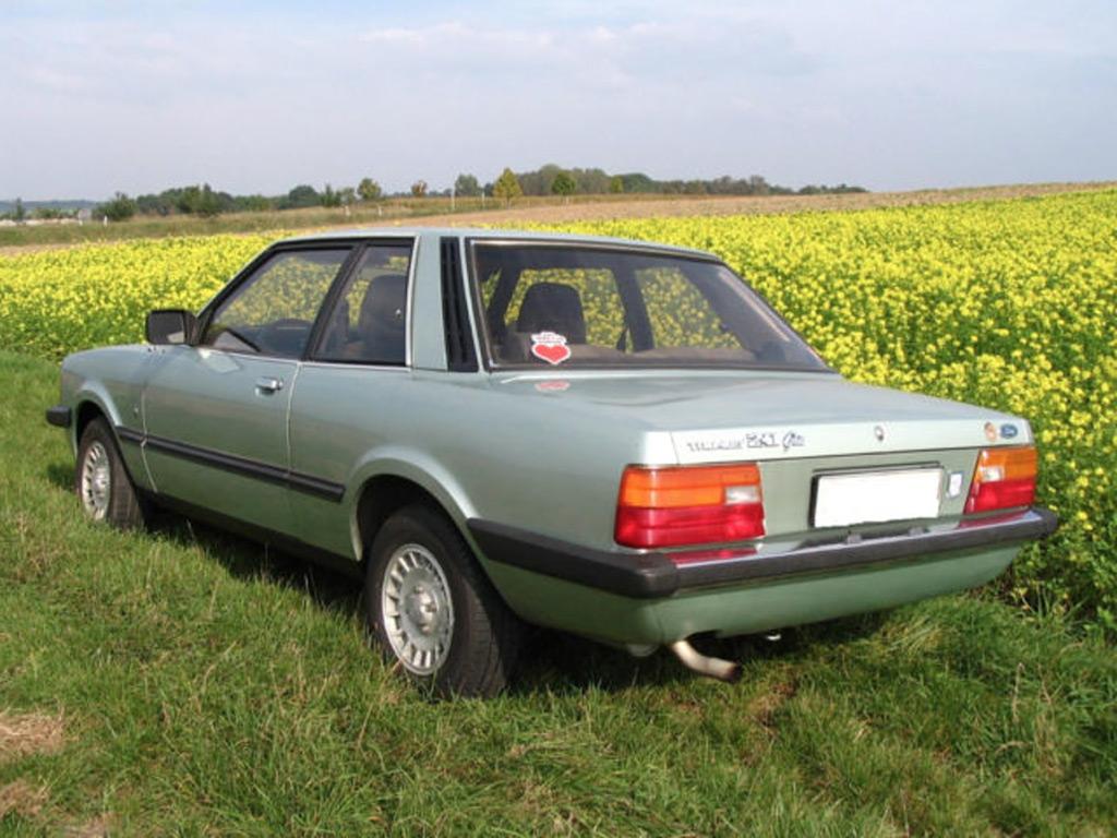 Ford Taunus 1981 achterzijde