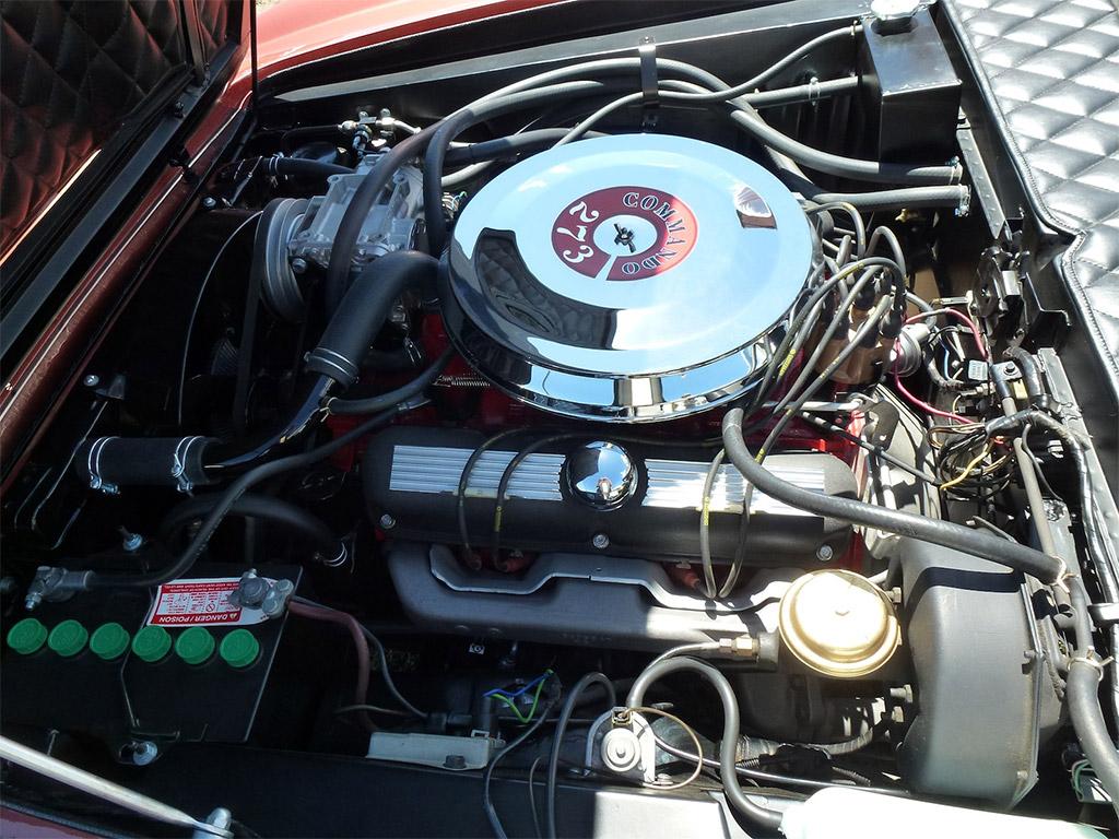 Ghia 450SS motor 1967