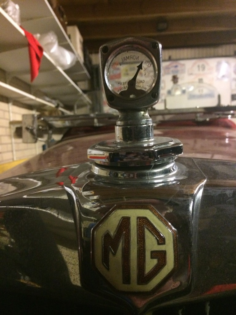 MG TD2 thermostaat