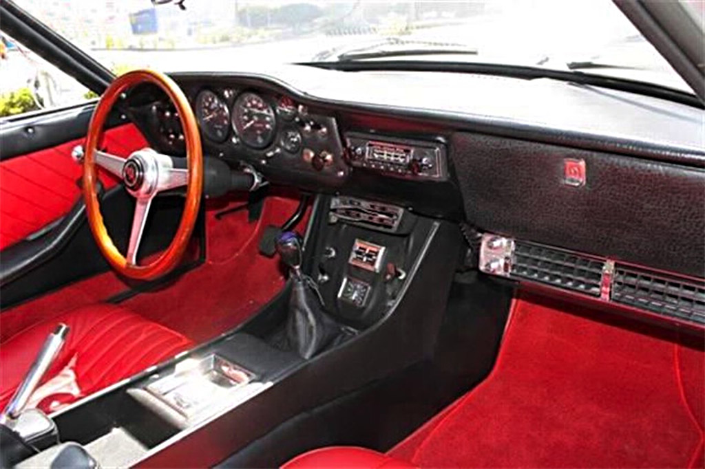 Intermeccanica Italia Coupe_ interieur 1969