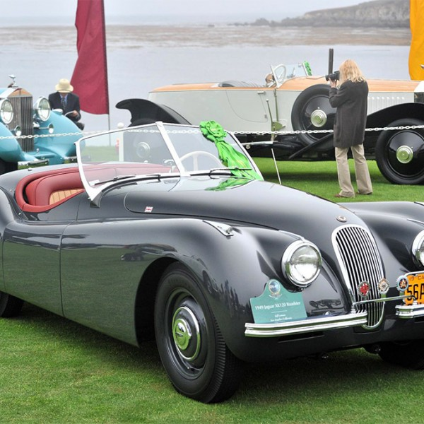 Jaguar XK120 clark gable