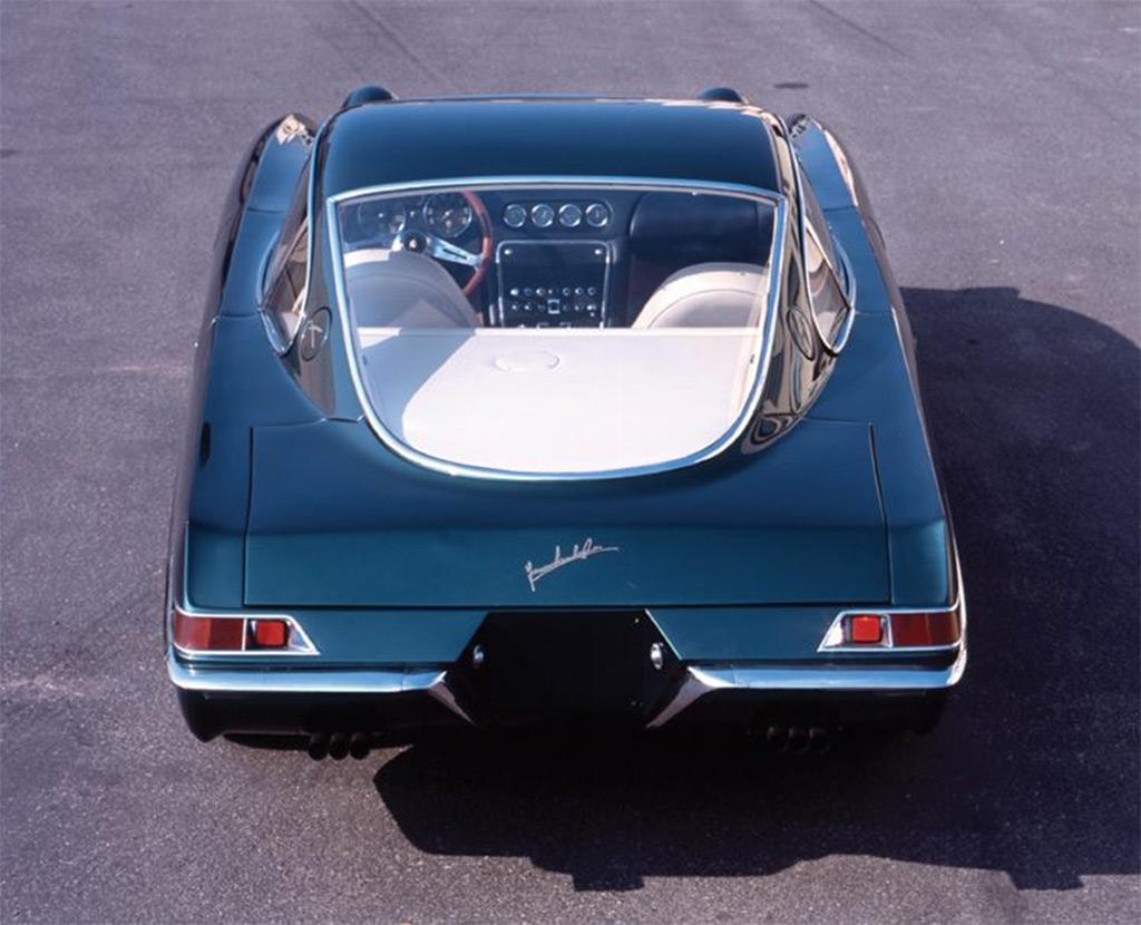 Lamborghini 350GTV achterzijde