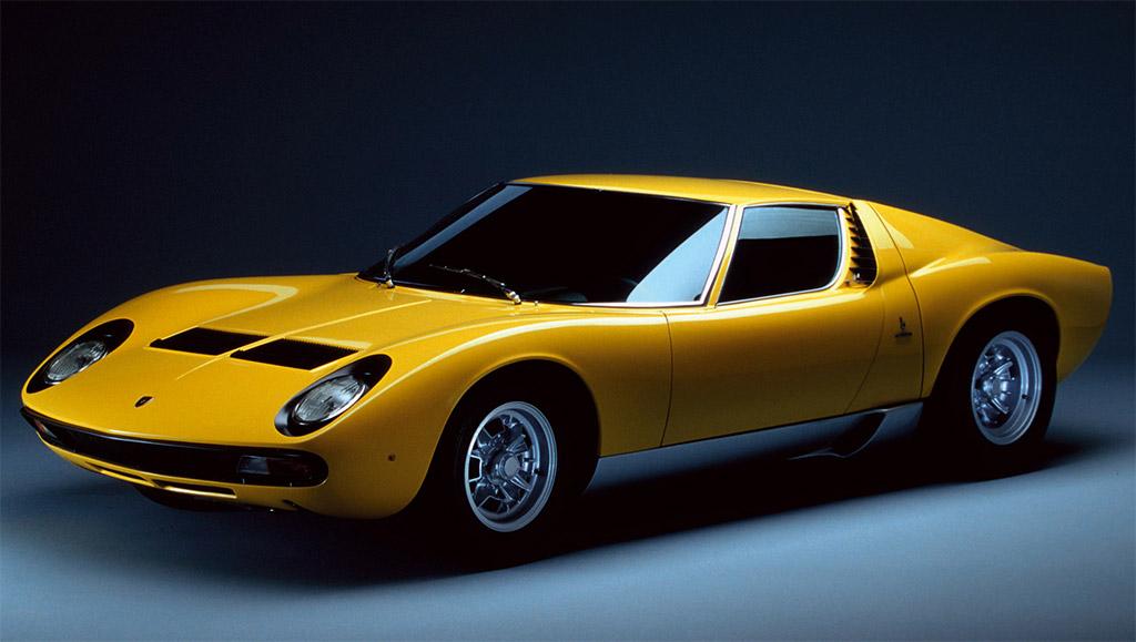 Lamborghini Miura interieur