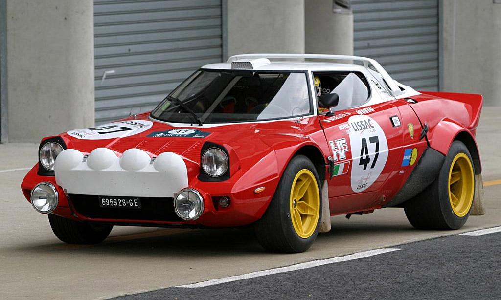 Lancia Stratos racing