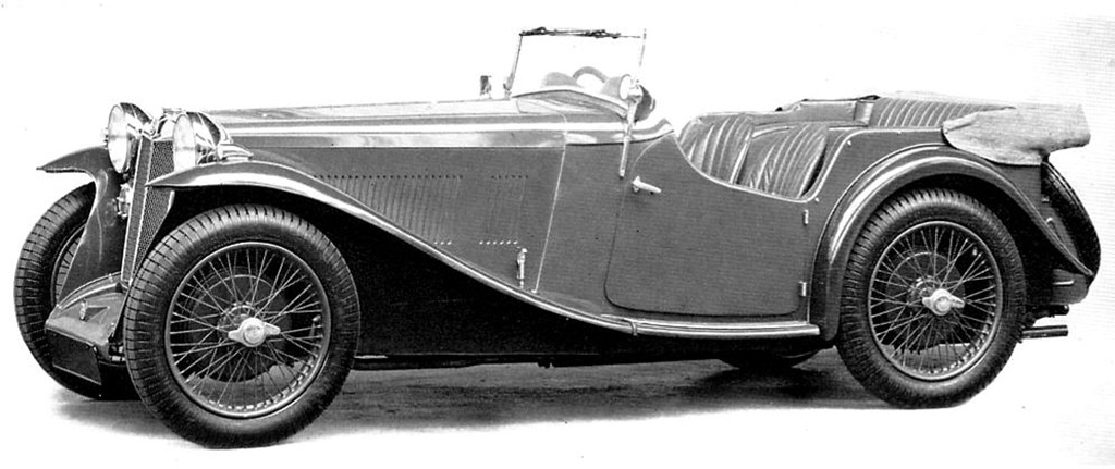 MG L1 4 seater 1926