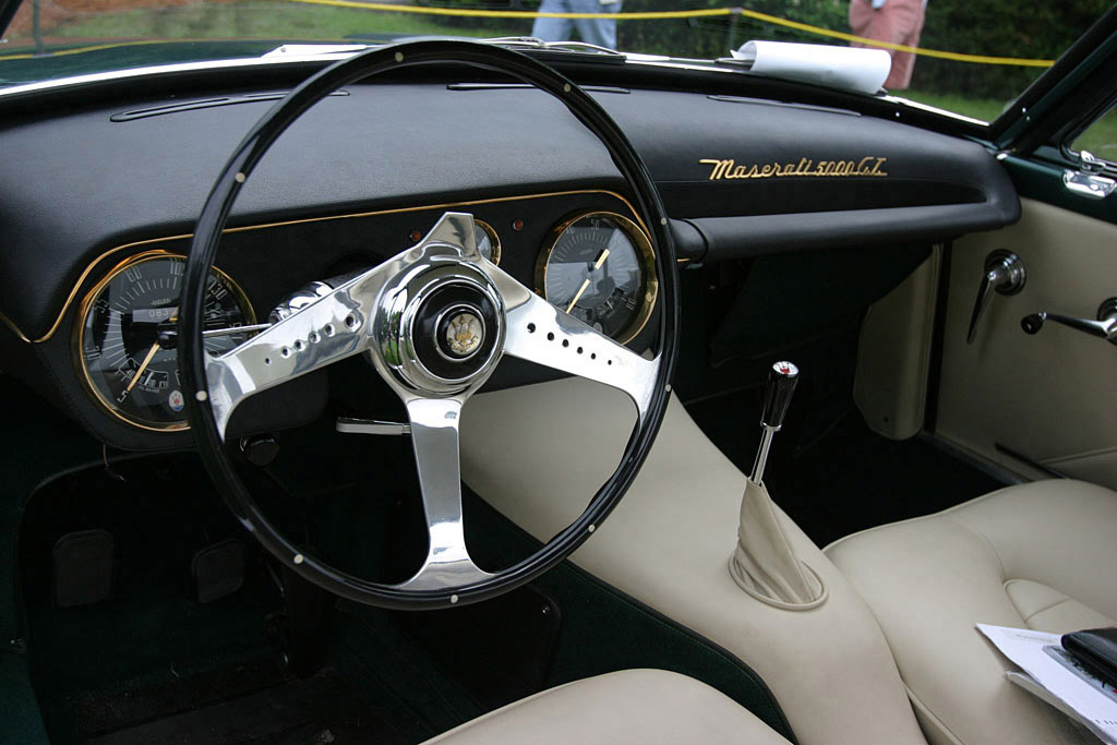 Maserati 5000GT interieur