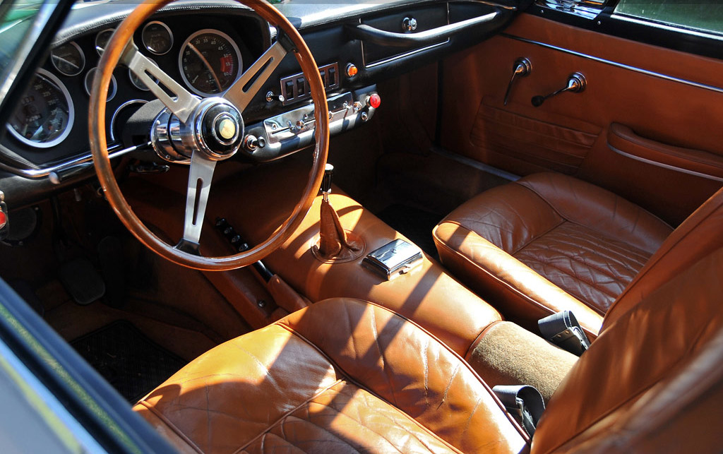 Maserati Mistral interieur