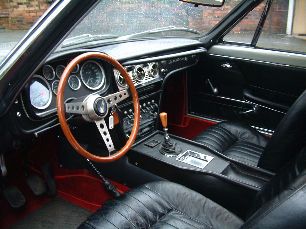 Maserati Sebring interieur