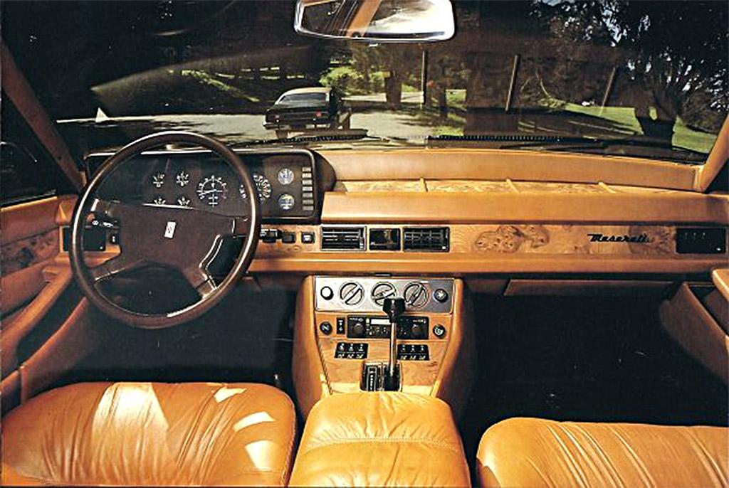 Maserati quattroporte III interieur