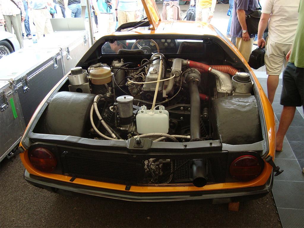 Mercedes-Benz C111 motor