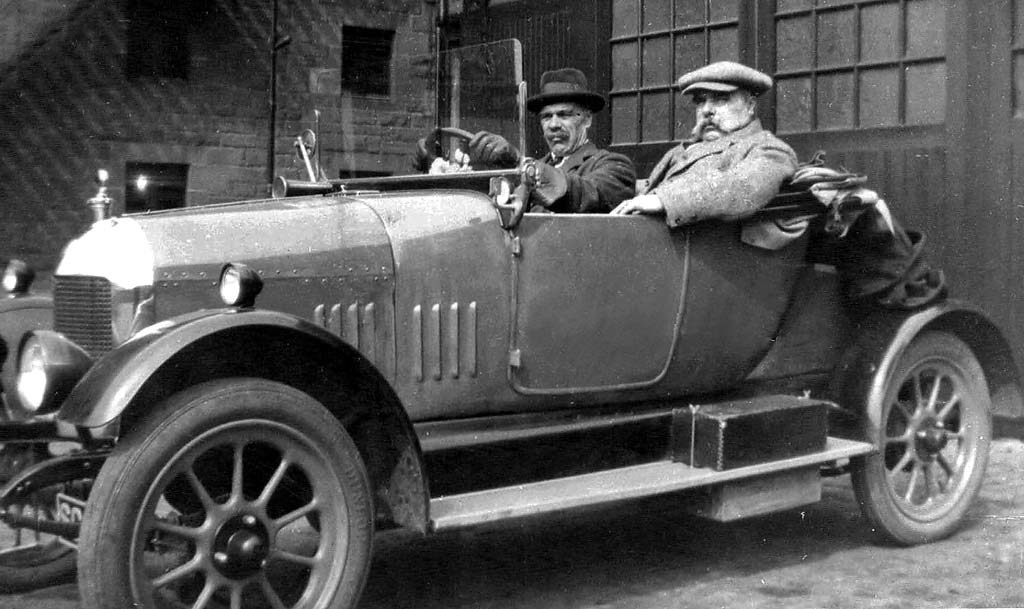 Morris Bullnose Oxford 1925