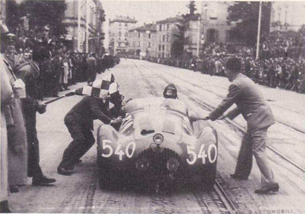 OSCA Luigi fagioli_mille miglia 1950