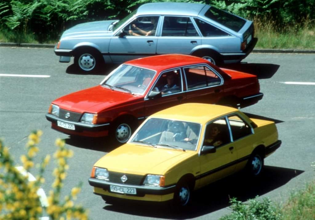 Opel Ascona C uit 1981