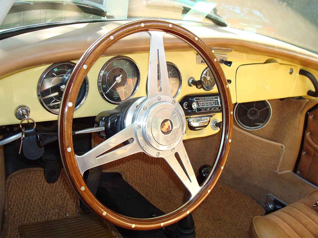 Porsche 356 interior
