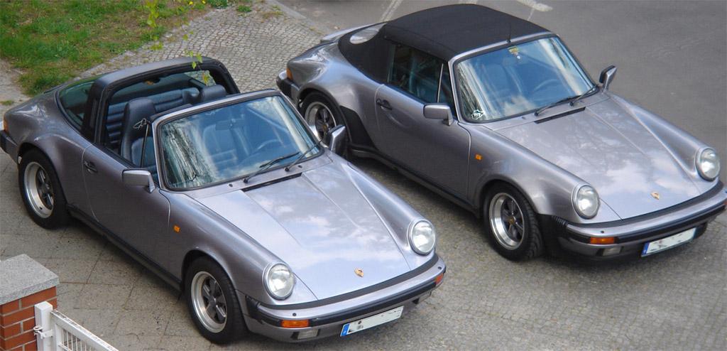 Porsche 911 3.2 silver anniversary