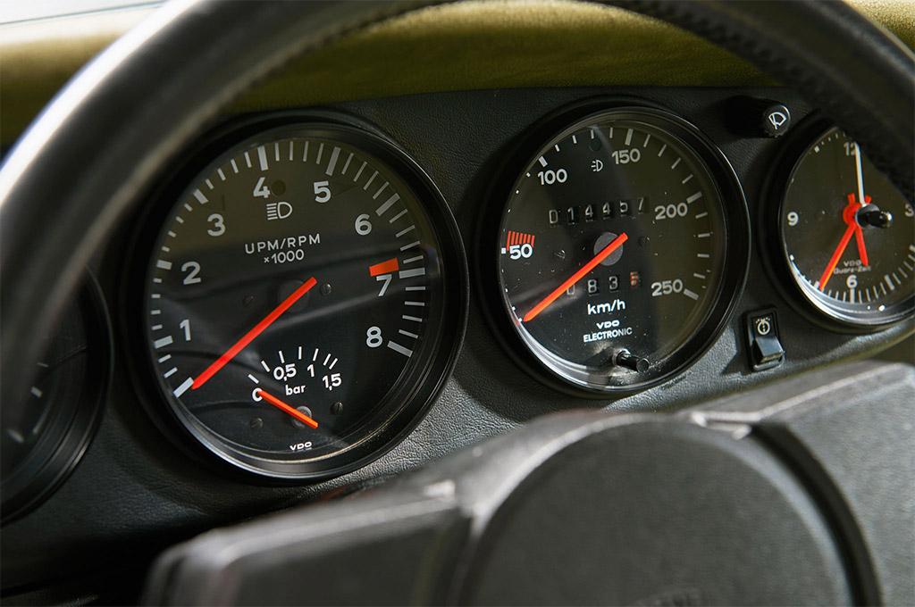 Porsche 911 turbo wijzers