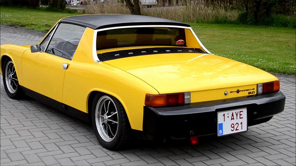Porsche 914 achterkant