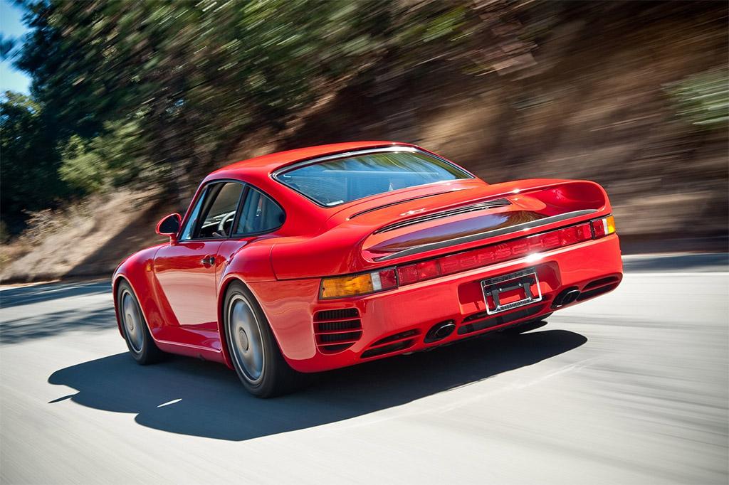 Porsche 959 achterkant