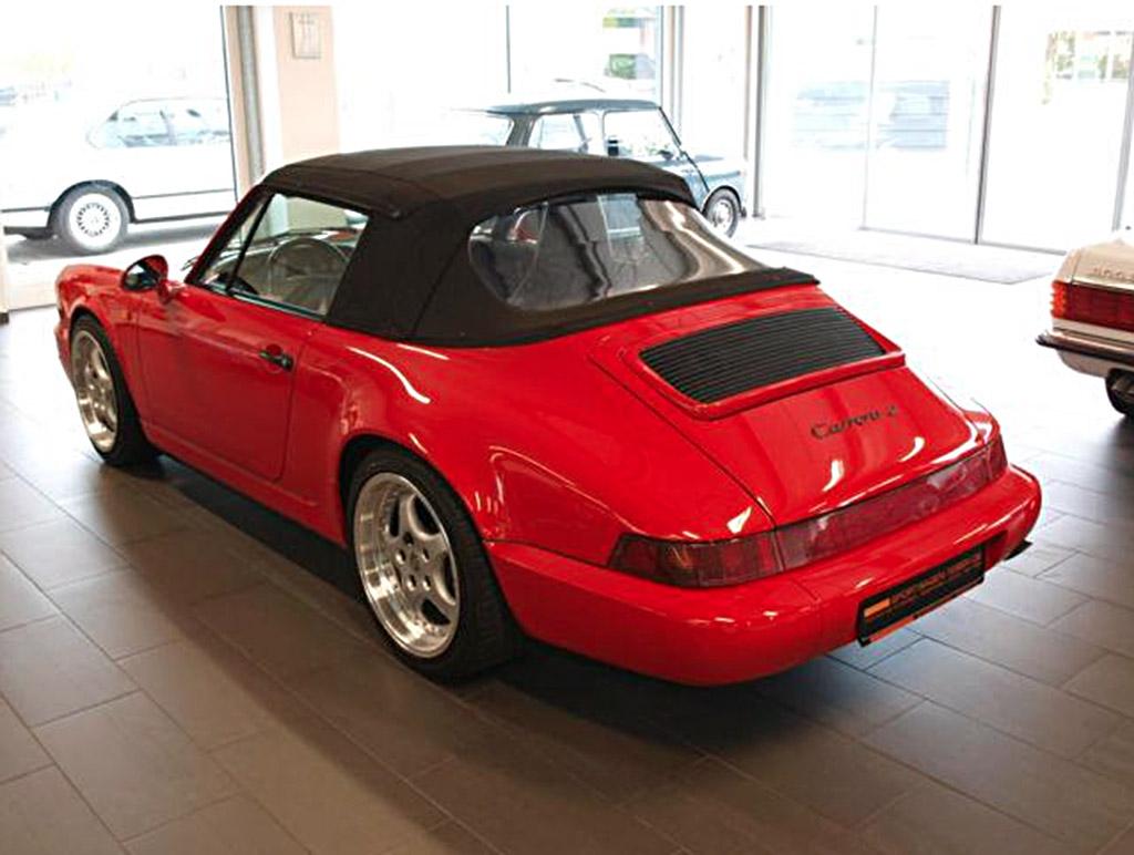 Porsche 964 achterzijde