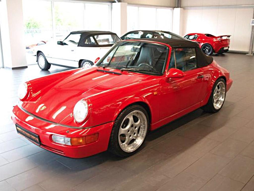 Porsche 964 voorzijde
