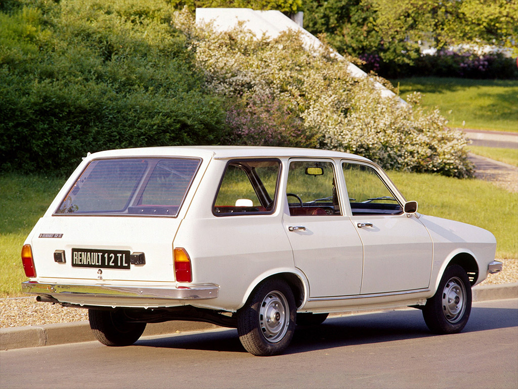 Renault 12 stationwagon