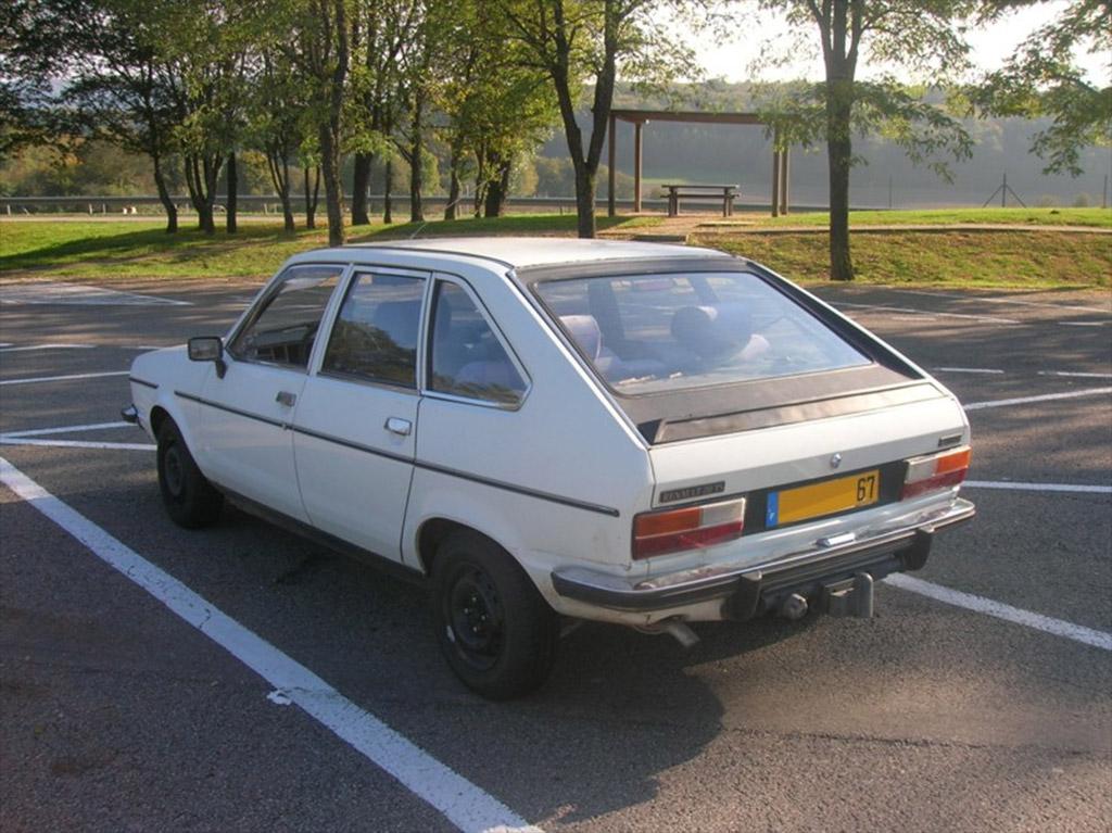 Renault 20 achterzijde