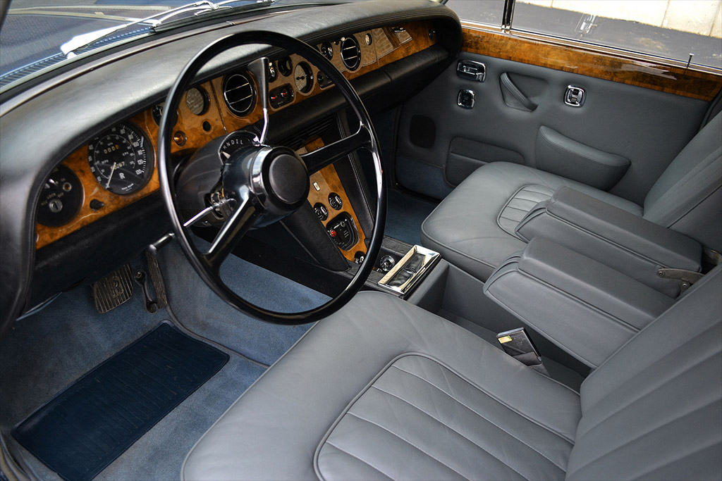 Rolls Royce Silver shadow 1971 interieur