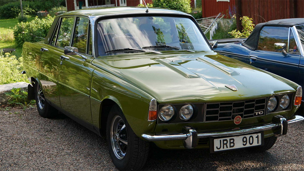 Rover P6 2200TC 1975