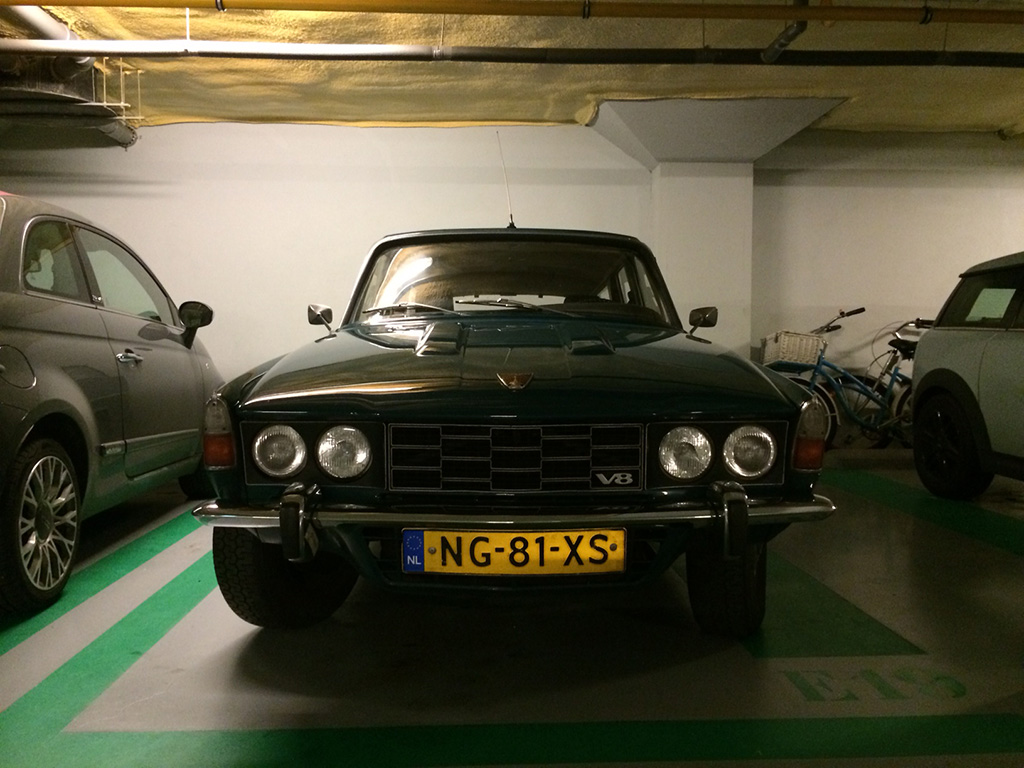 Rover P6 3500 station