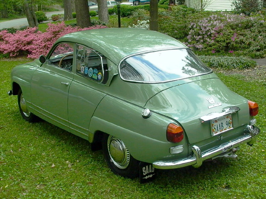Saab 96 Monte Carlo 1966