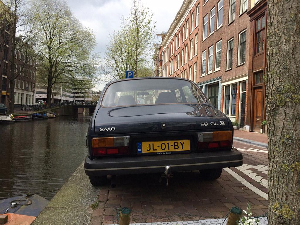 Saab 99 achterkant