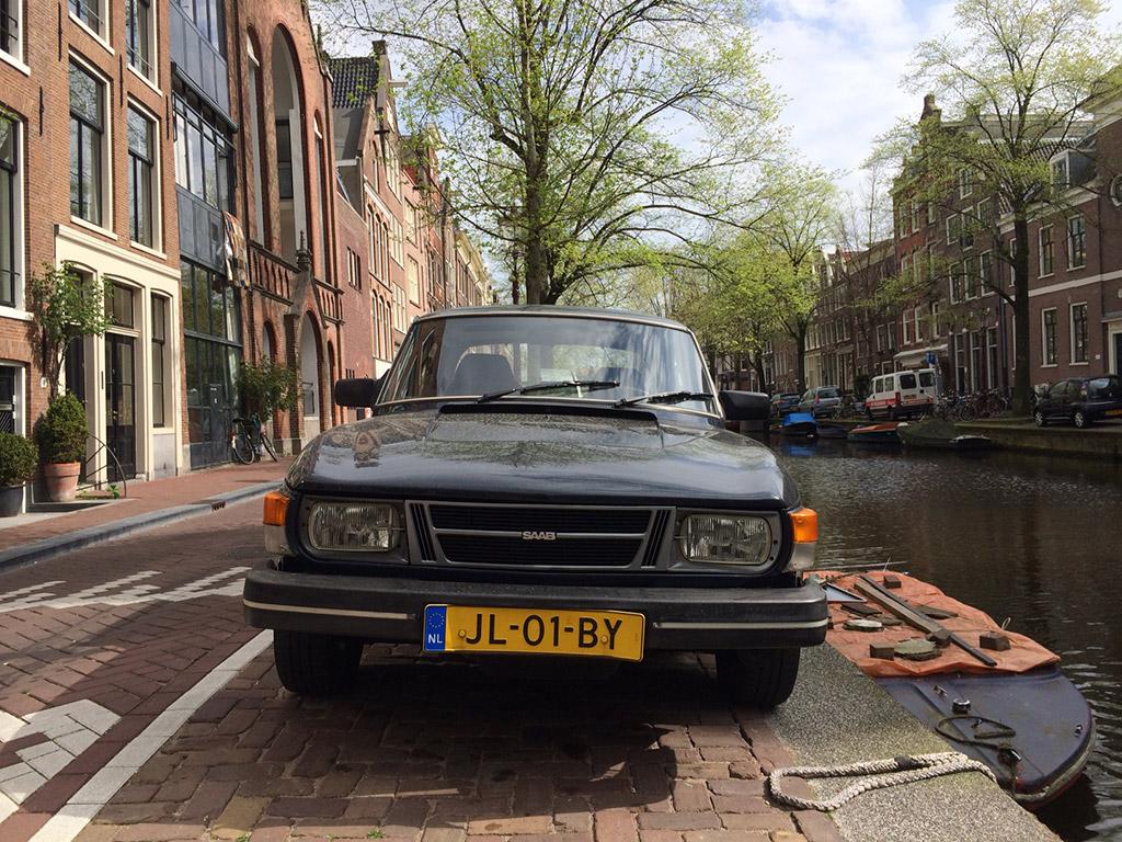 Saab 99 voorkant