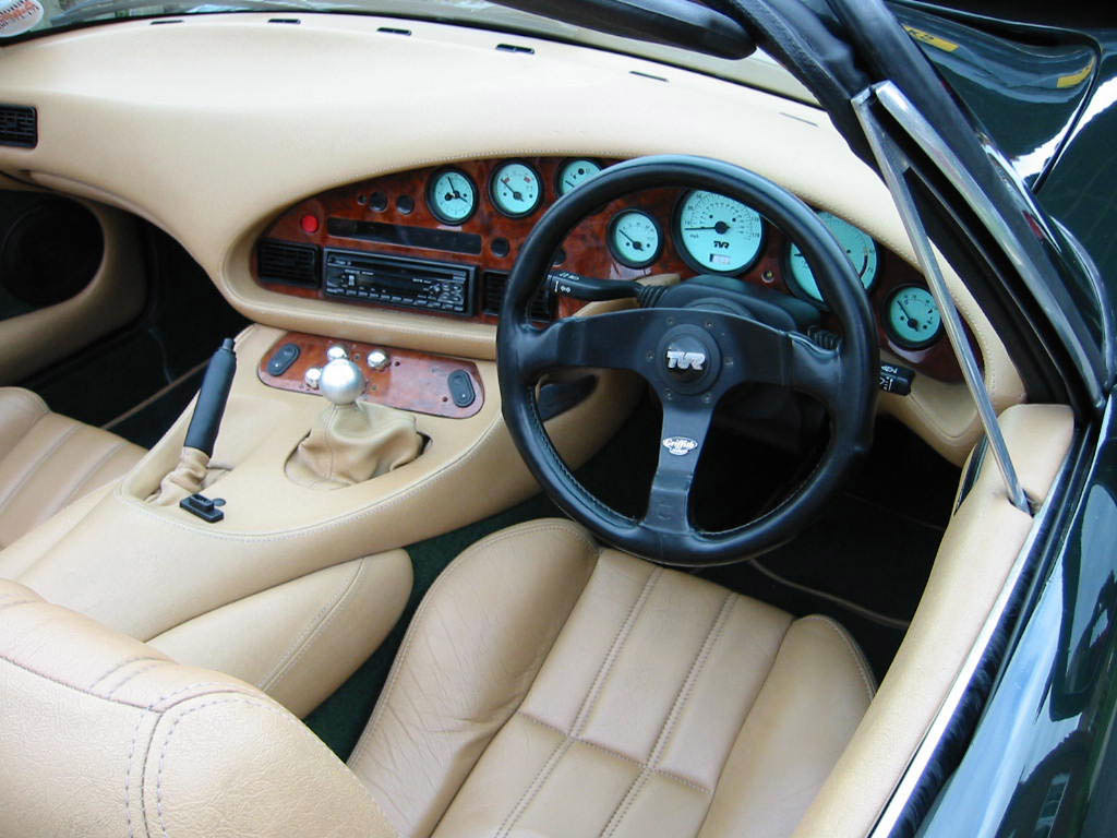 TVR Griffith 1991 interieur