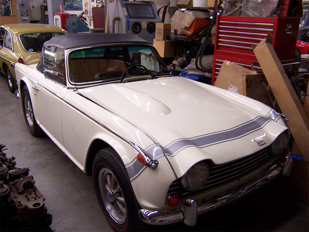 Triumph TR250