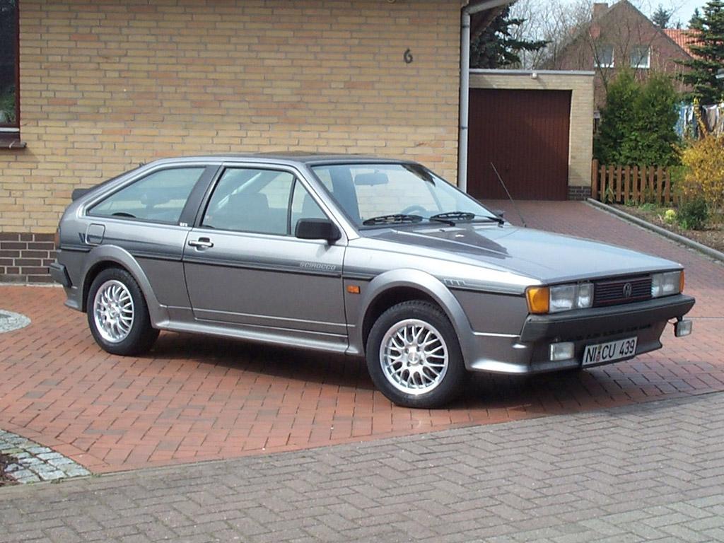 VW Scirocco 1987