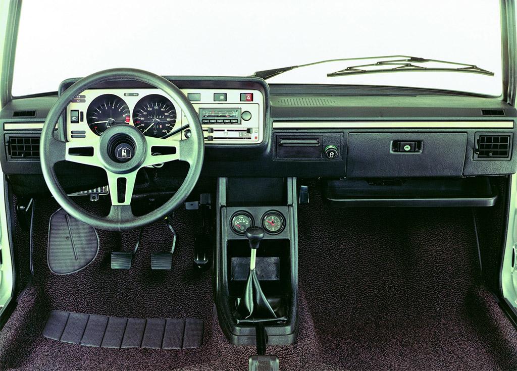 VW Scirocco interieur