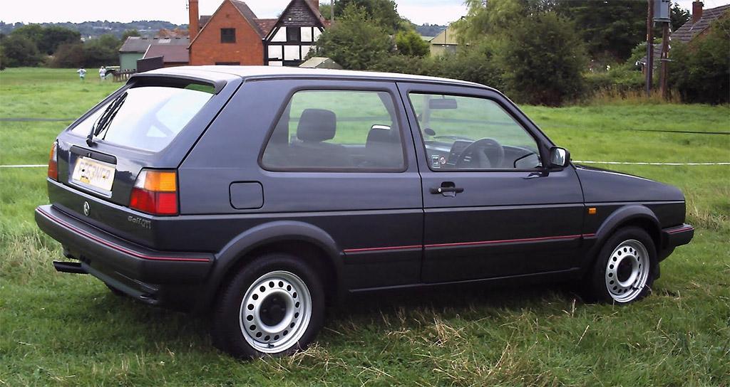Volkswagen Golf MK 2 profiel