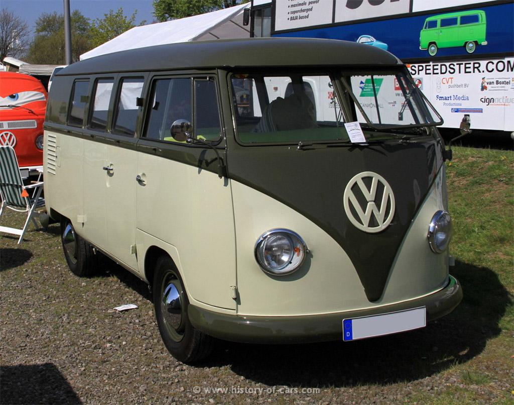 Volkswagen T1 1954