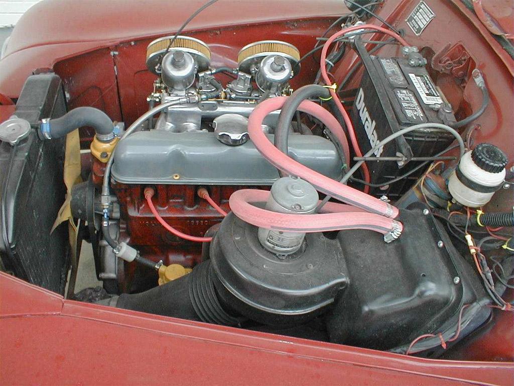 Volvo PV544 motor