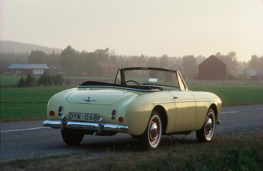 Volvo sport P1900 1954 back