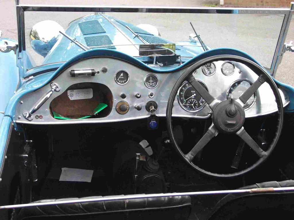 ac 2-litre 1938 dashboard