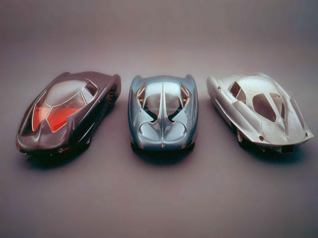 De op de Alfa Romeo 1900 gebaseerde BAT-serie