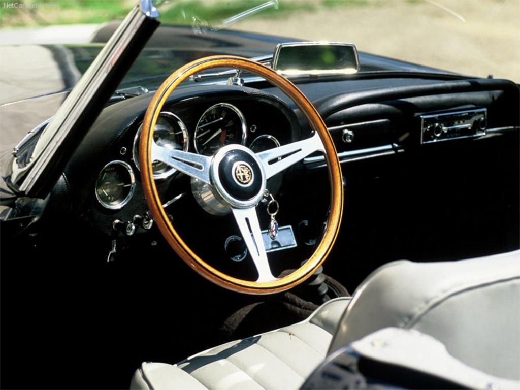 Alfa Romeo 2600 interieur