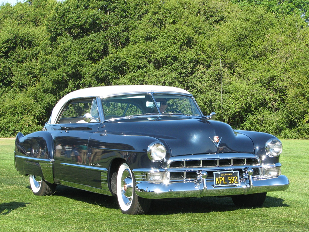 cadillac coupe deville 1949