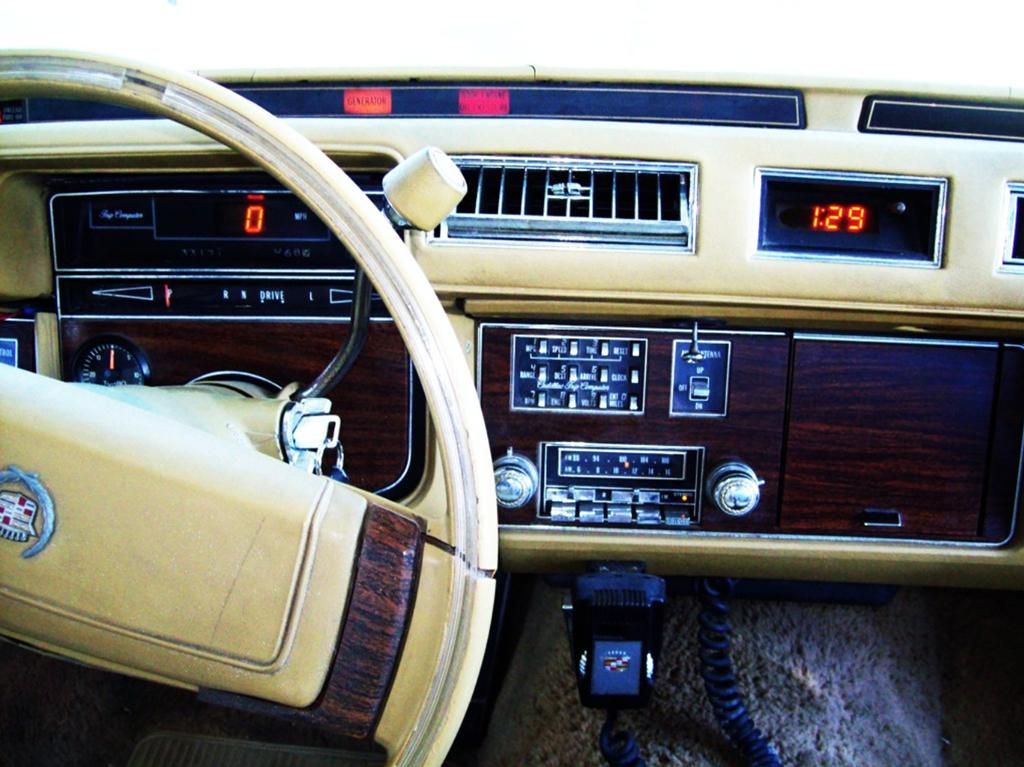 cadillac seville dashboard 1978