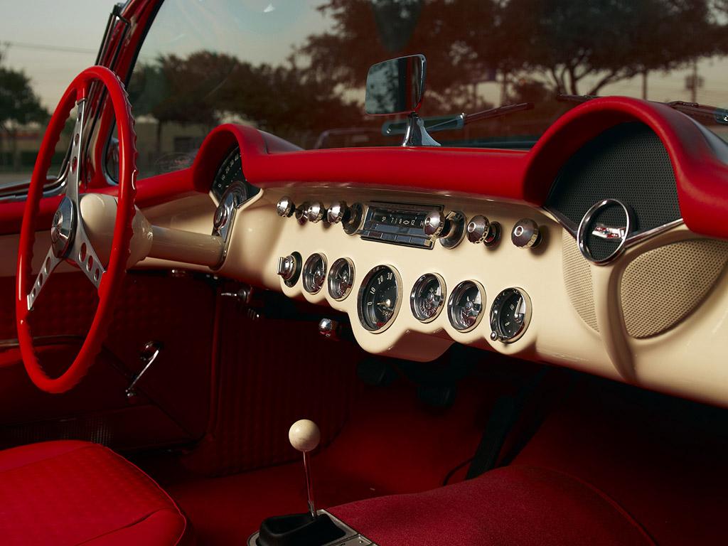 chevrolet corvette coupe 1957