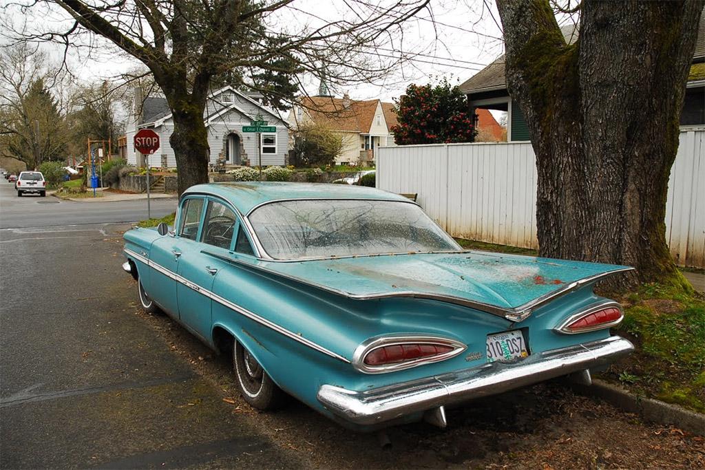chevy bel air 1959 achterlichten