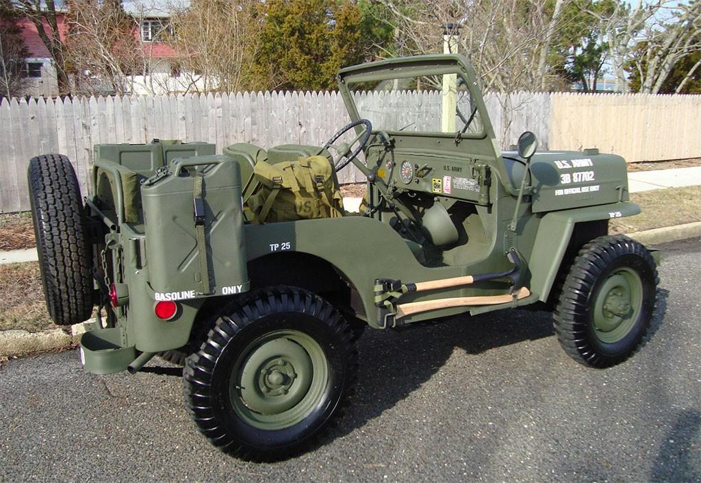 jeep civilian CJ
