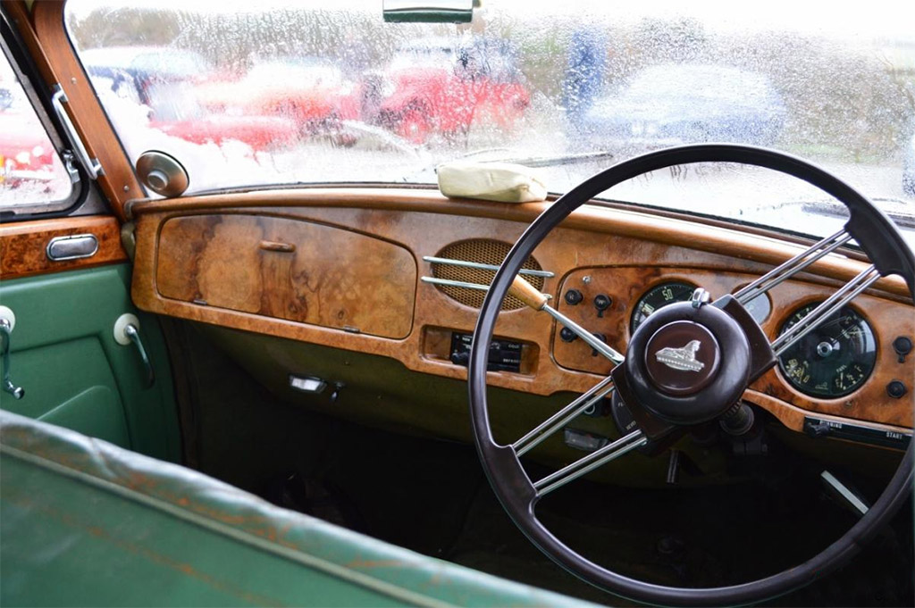 Armstrong Siddeley sapphire interieur