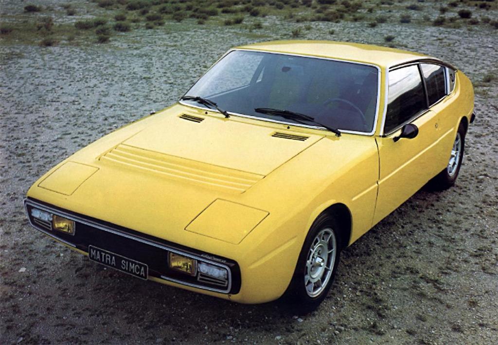 matra simca bagheera 1973